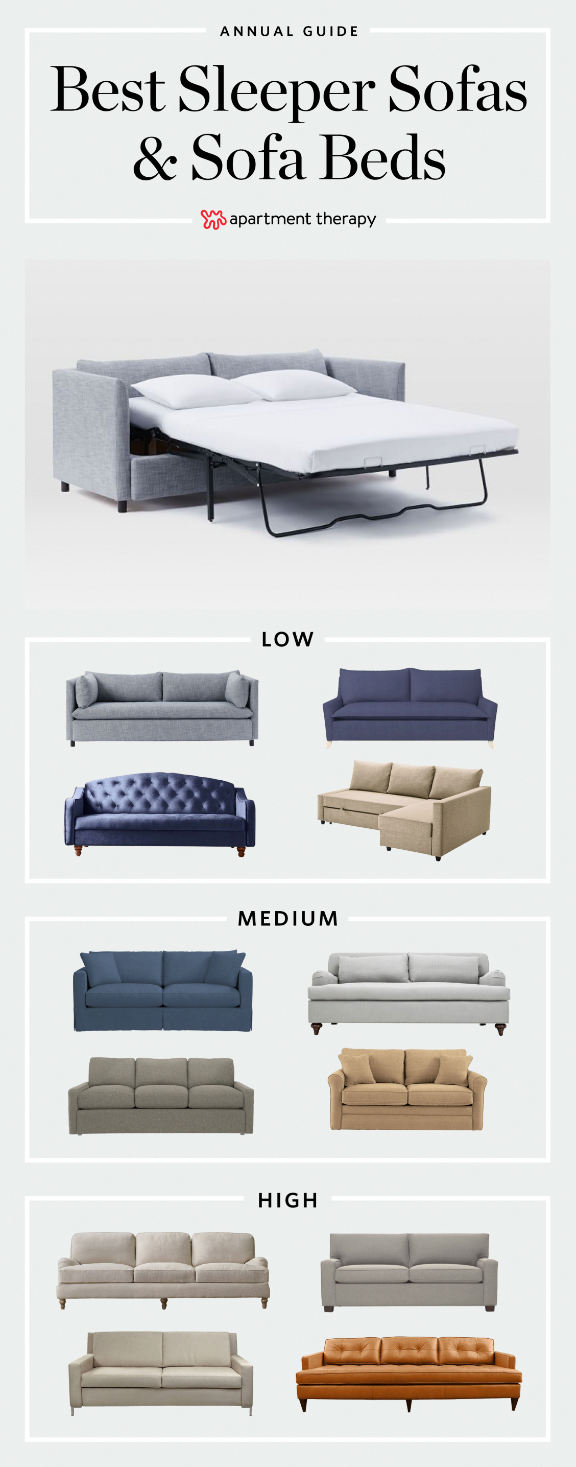 The Top 15 Best Sleeper Sofas & Sofa Beds | the technology around sleeper sofas …