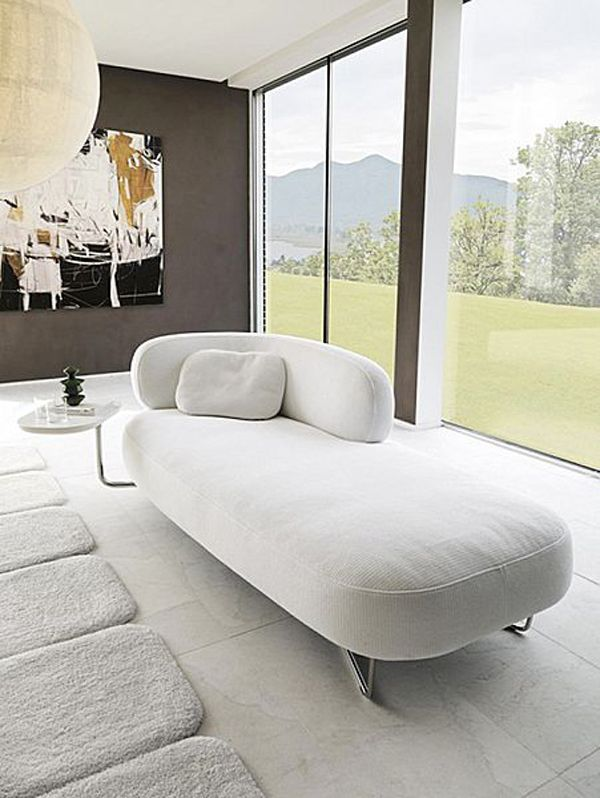 The chaise lounge relaxes the decor! – Trendy Home Decorations