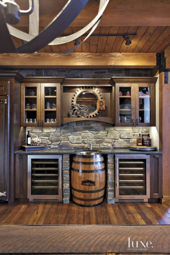 "These 15 Basement Bar Ideas Are Perfect For the ""Man Cave"""
