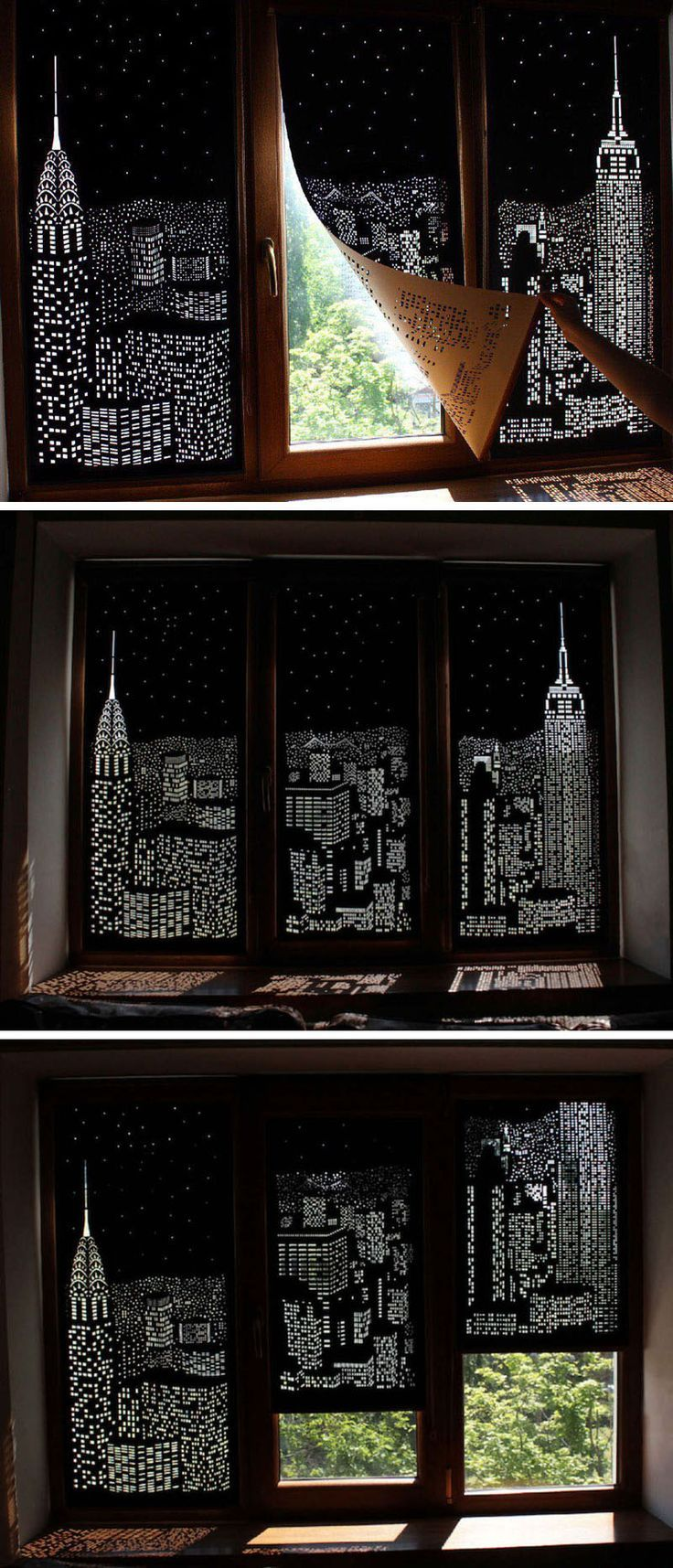 These Blackout Blinds Provide A City View When Closed – worldefashion.com/decor