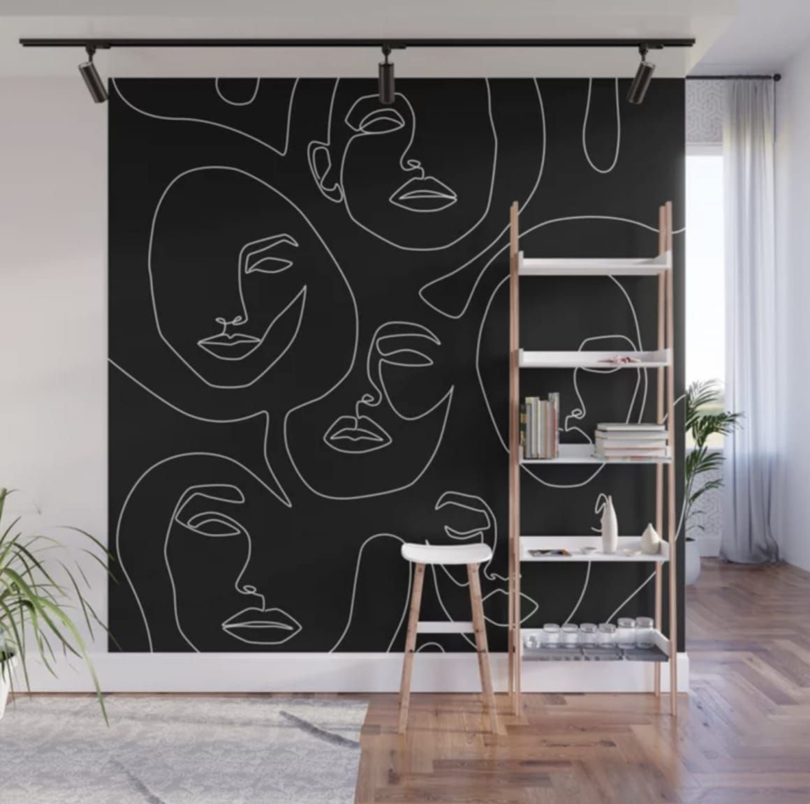 These Wall Murals Require Zero Artistic Skill