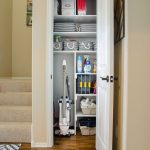This Clever Idea Quadruples the Storage Possibilities in a Tiny Coat Closet — POPSUGAR