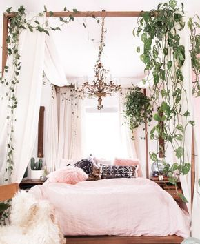 This Indoor Plant Canopy Trend Is Wild—and Totally Doable – pickndecor.com/furniture