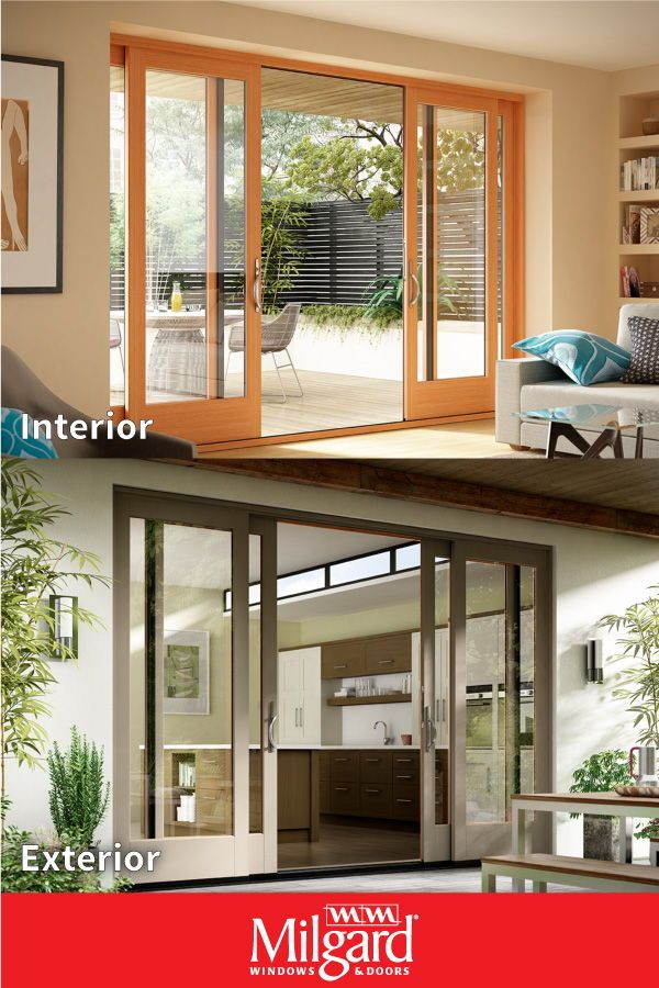 This beautiful 4 panel French sliding patio door can help elevate the décor of …