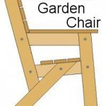 This garden chair is an extremely simple design and is probably one of the easie...