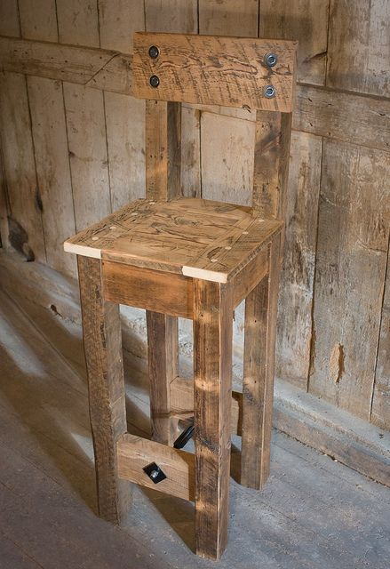 Timber House reclaimed furniture bar stool
