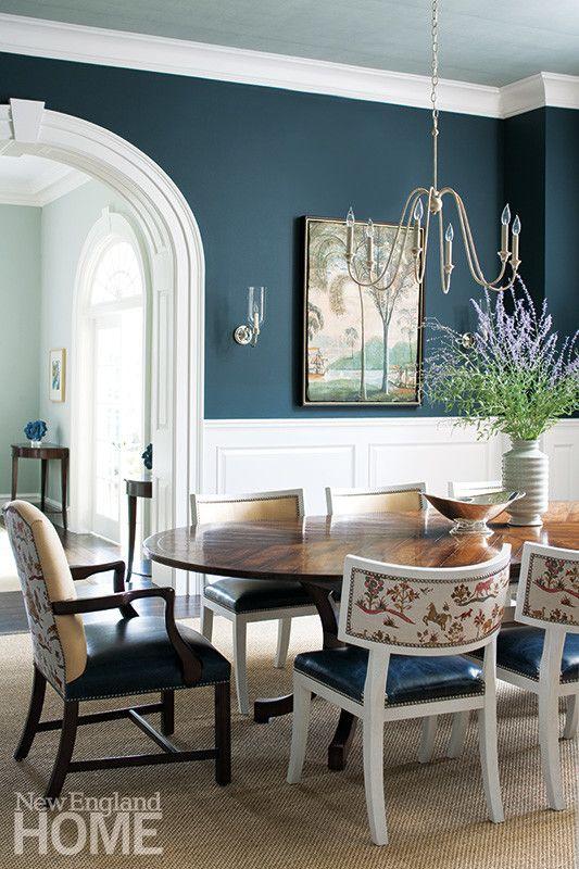 Time & Again: A Georgian Home Revival – New England Home Magazine
