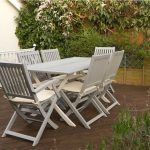 Tired outdoor garden furniture given a new lease of life using F Manor House Gra...