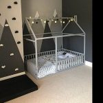 Toddler furniture teepee kids home bed, FULL/ DOUBLE size with SLATS - pickndecor.com/furniture