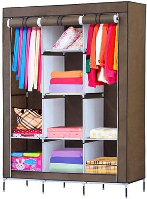 Top 10 Best Portable Wardrobe Closets in 2019 Reviews – AmaPerfect