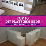 Top 10 DIY Platform Beds, Place Your Bed On A Raised Platform