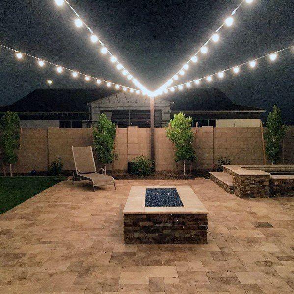 Top 40 Best Patio String Light Ideas – Outdoor Lighting Designs – worldefashion.com/decor