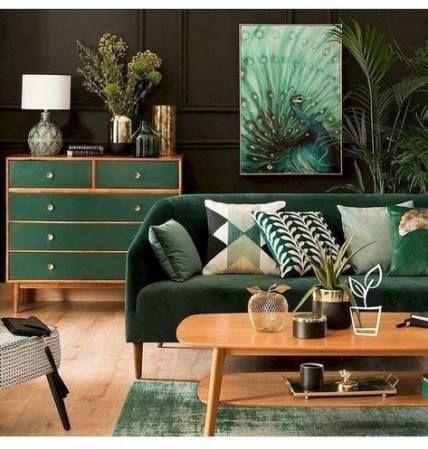 Trendy Home Decored Ideas Living Room Modern Green 16+ Ideas