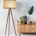 Tripod Webbing floor lamp - Zuiver