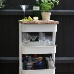 Turn a Popular IKEA Kitchen Cart Into a Swanky Outdoor Drinks Station | Hunker