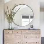Turner Round Mirror