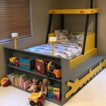 Twin Size Bulldozer Bed PLANS (pdf format), Create a Construction Themed Bedroom for your Child, Perfect for the DIY Woodworking Enthusiast
