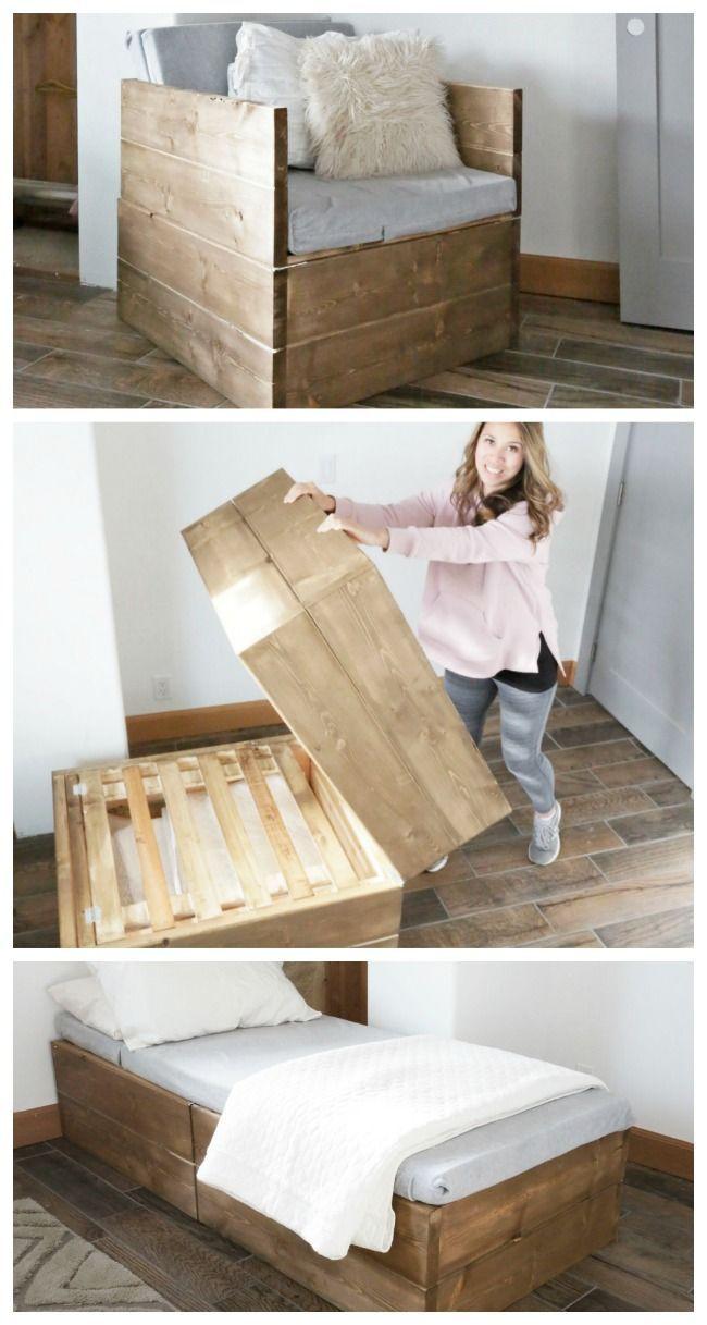 Twin Sleeper Chair | Ana White
