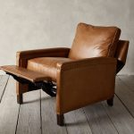 Tyler Leather Square Arm Recliner - pickndecor.com/furniture