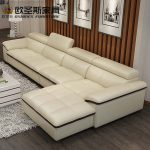US $343.9 5% OFF|Modern Sectional Livingroom Beige Genuine Leather Sofa set Leisure L Shape Sofa Set Leather Top Grain Italy Leather Sofa 665-in Living Room Sofas from Furniture on Aliexpress.com | Alibaba Group