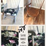 Upholstering a Wooden Rocking Chair