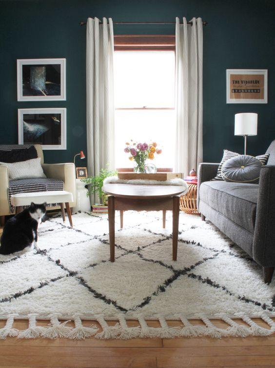 Urban Outfitters Felize Tassel Shag Rug – copycatchic