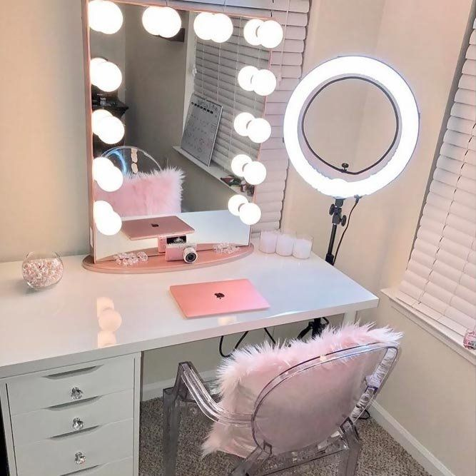Vanity Desk With Mirror And Lights – http://www.otoseriilan.com