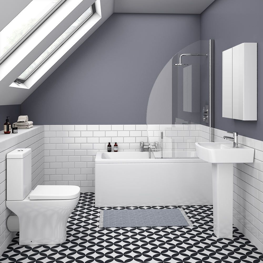 Venice Small 5-Piece Bathroom Suite | Victorian Plumbing UK