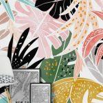 Veronica Wall Mural / Wallpaper Abstract