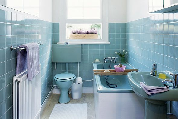 Vintage 1950s bathrooms | Vintage Pearl: The Inspiration – The Vintage Bathroom