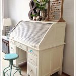 Vintage Roll Top Desk Gets a Coastal Home Love Makeover! | Coastal Home Love