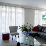 Voile Curtains for Bifold Doors and French Windows.