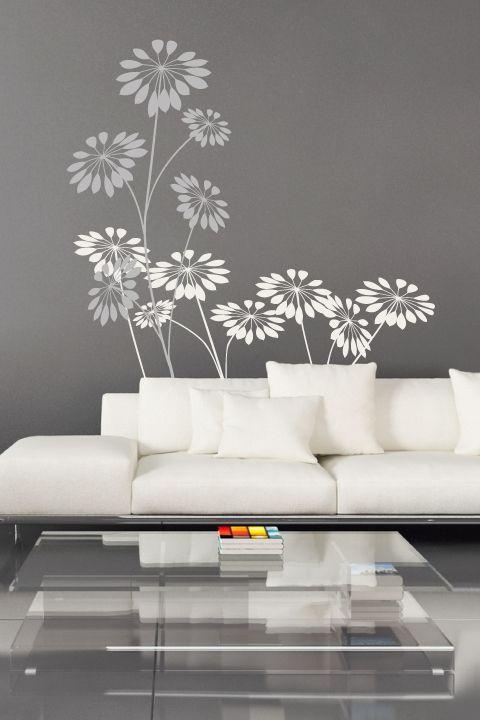 Wall Decals  Precious Flowers- WALLTAT.com Art Without Boundaries