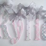 Wall Letters - Wooden Wall Letters - Wood Letters - Wooden Wall Letters - Baby Name Letters - Glitter and Sparkle