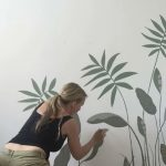 Wall Mural Artist Nicola Hill-Gregory from Lana Rose Interiors