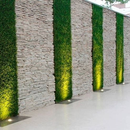 Wall cladding tiles, Wall cladding, Stone walls garden, Garden wall decor, Stone…