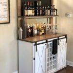 Weston Chalkboard Beverage Bar