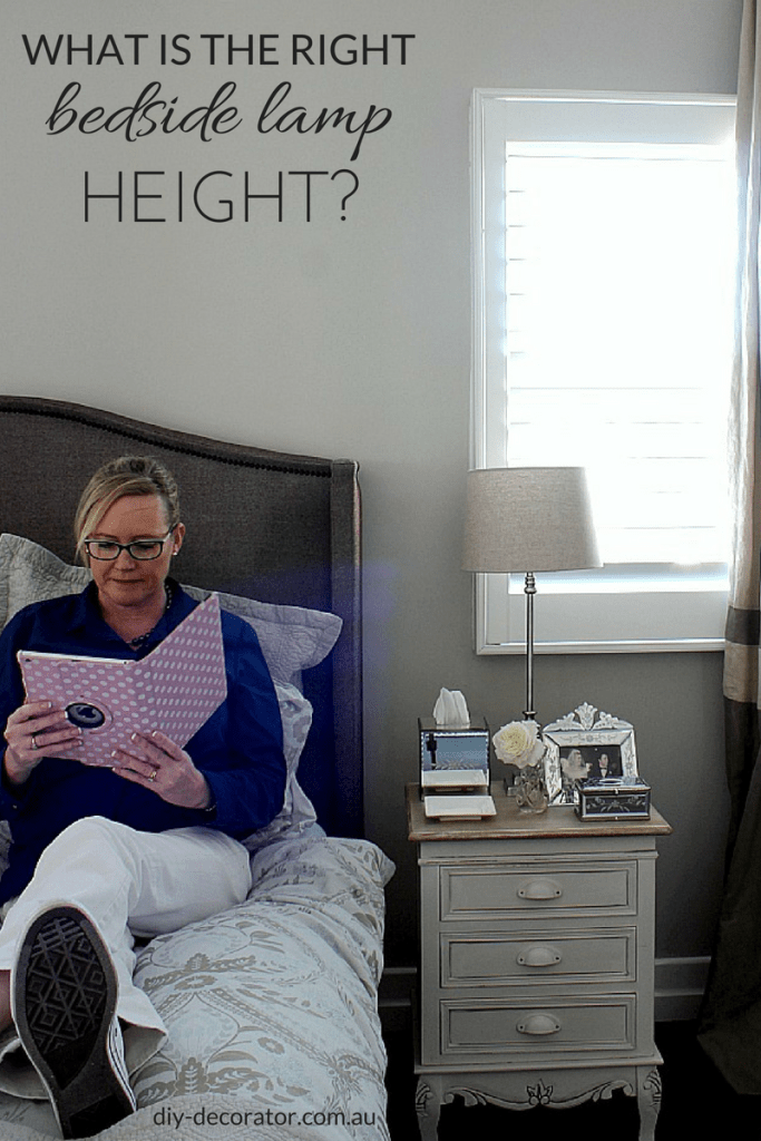 What is the Right Bedside Lamp Height – DIY Decorator