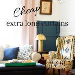 Where to find cheap extra long curtains • Avenue Laurel