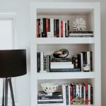 White + Black Bookshelf