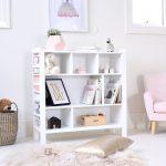 White Morris Bookshelf