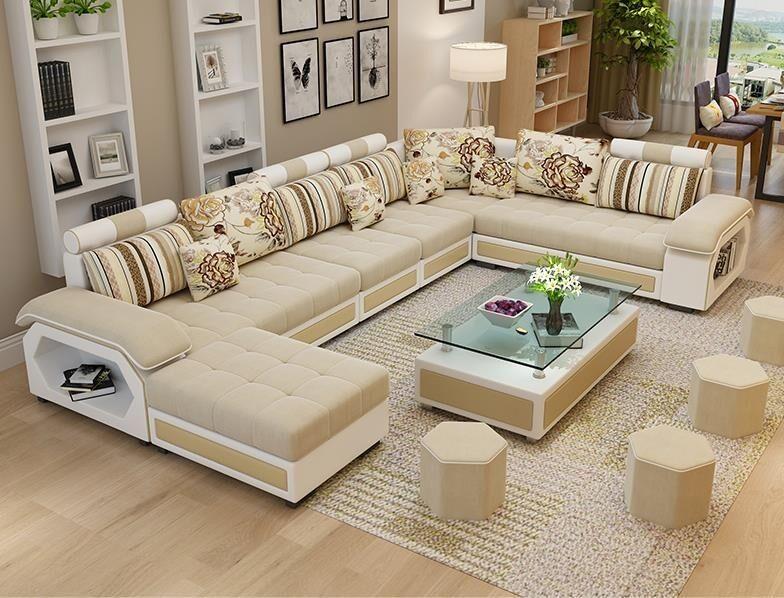 Wholesale Factory wholesale fabric U shaped sectional sofa, modern European styl…