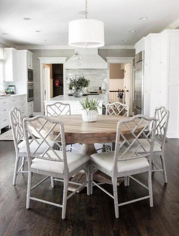 Why A Round Dining Table is a Great Choice – Coastal Farmhouse