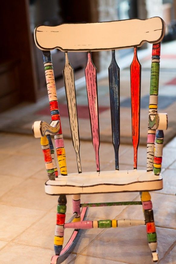 Why Is Everyone Talking About Hand Painted Wooden Chairs? | Hand Painted Wooden …