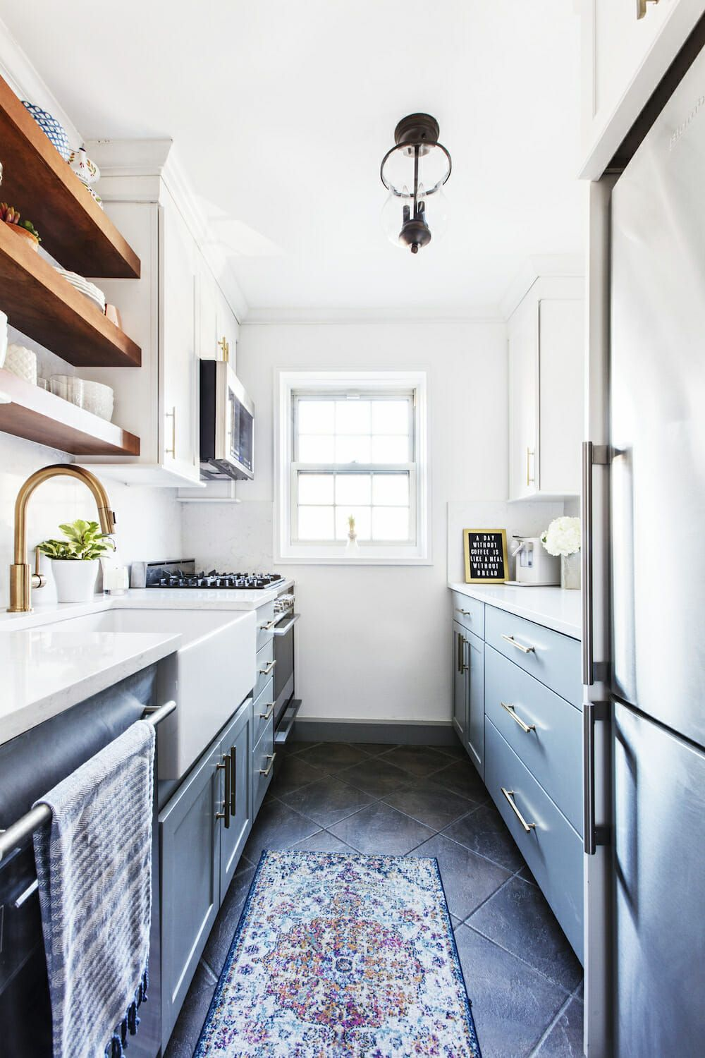 Why a Galley Kitchen Rules in Small Kitchen Design ...