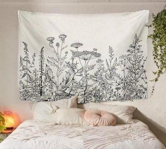 Wild Herbs Tapestry