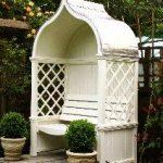 Windsor Arbour Garden Seat - This company (HSP Garden Buildings of Dublin, Irela...