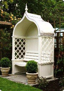 Windsor Arbour Garden Seat – This company (HSP Garden Buildings of Dublin, Irela…