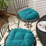 Winston Porter Indoor/Outdoor Dining Chair Cushion | Wayfair
