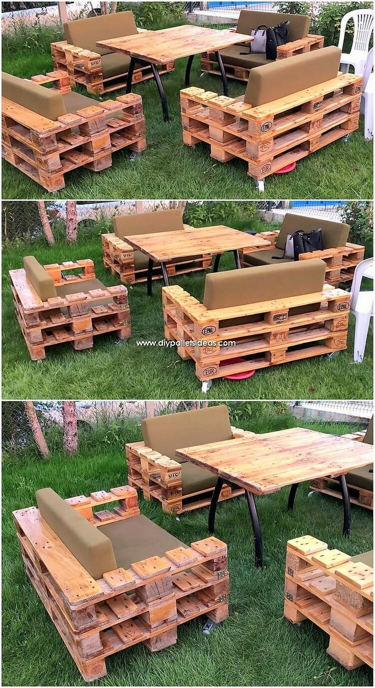 Wonderful Creations Made with Recycled Pallets – Stylekleidung.com